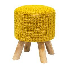 Puff-de-Madeira-com-Crochet-Amarelo-Urban