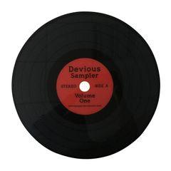 Lugar-Americano-Vermelho-38cm-Disco-de-Vinil-Urban