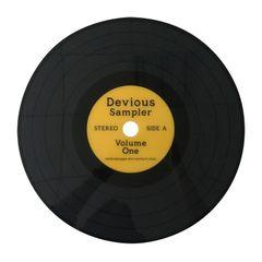 Lugar-Americano-Amarelo-38cm-Disco-de-Vinil-Urban