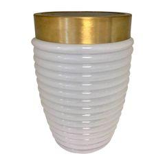Vaso-de-Vidro-Branco-Gold-Colar-Cone-Urban