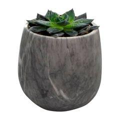 Vaso-de-Ceramica-Cinza-Marmore-Pequeno-Urban