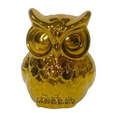 Coruja-Decorativa-em-Ceramica-Dourada-Less-Grande-Urban