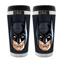 Copo-Termico-de-Plastico-Preto-500ml-Batman-Urban