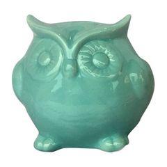 Cofrinho-Decorativo-em-Ceramica-Coruja-Verde-Urban