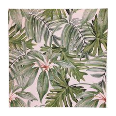 Quadro-Decorativo-Verde-Bracken-Leaves-Urban