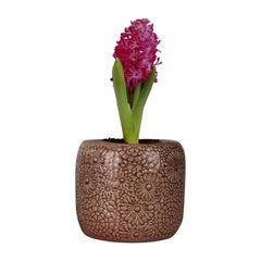 Vaso-de-Ceramica-Marrom-Flowers-Urban