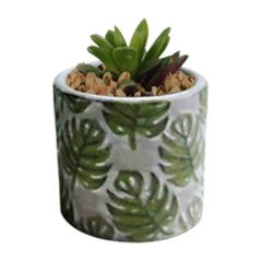 Vaso-de-Ceramica-Cinza-Forest-Pequeno-Urban