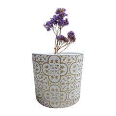 Vaso-de-Ceramica-Branco-e-Dourado-Royal-Urban