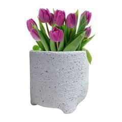 Vaso-de-Ceramica-Branco-Sandy-Grande-Urban