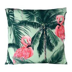 Capa-de-Almofada-Verde-45x45cm-Flamingo-Urban