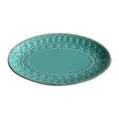 Prato-Decorativo-em-Ceramica-Azul-Dish-Urban