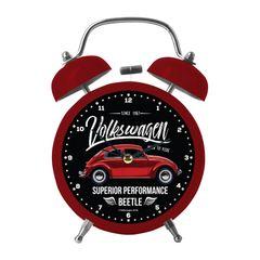 Relogio-Despertador-Vermelho-17cm-Fusca-Vintage-Urban