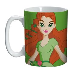 Caneca-de-Porcelana-Verde-135ml-Super-Girl-Urban