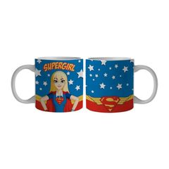 Caneca-de-Porcelana-Azul-300ml-Super-Girl-Urban