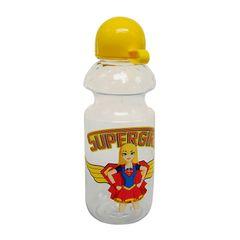 Garrafa-Squeeze-Amarela-500ml-Super-Girl-Urban