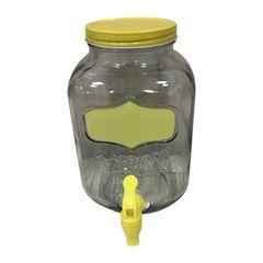 Dispenser-para-Bebidas-em-Vidro-37L-Amarelo-Glass-Urban