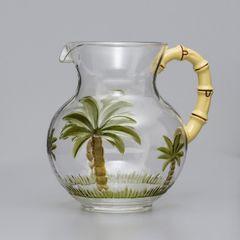 Jarra-de-Acrilico-27L-Palm-Tree-Bon-Gourmet