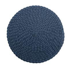 Lugar-Americano-Azul-Escuro-38cm-Leaf-Bon-Gourmet