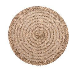 Lugar-Americano-Marrom-38cm-Flowered-Bon-Gourmet