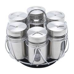 Porta-Tempero-com-Suporte-em-Inox-7-Pecas-Pointer-Bon-Gourmet