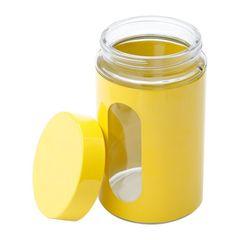 Porta-Mantimentos-em-Inox-Amarelo-Chucky-Bon-Gourmet-1