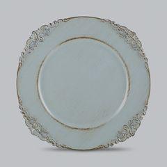 Conjunto-com-6-Sousplats-de-Plastico-Azul-Provencal-Bon-Gourmet