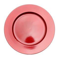 Conjunto-com-6-Sousplats-de-Plastico-Vermelho-Fit-Bon-Gourmet
