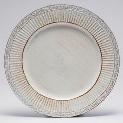 Conjunto-com-6-Sousplats-de-Plastico-Branco-Pandora-Bon-Gourmet
