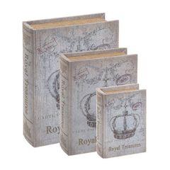 Kit-3-Caixas-Organizadoras-Book-Box-Coroa-Royal-Mart-2472-3