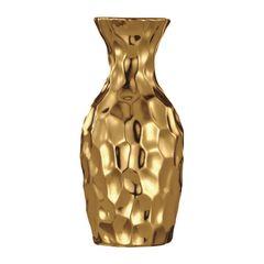 Vaso-de-Ceramica-Dourado-Miller-5638-Mart