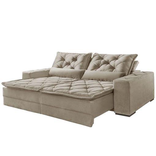 Sofa-Retratil-e-Reclinavel-2-Lugares-Bege-250cm-Lancelot
