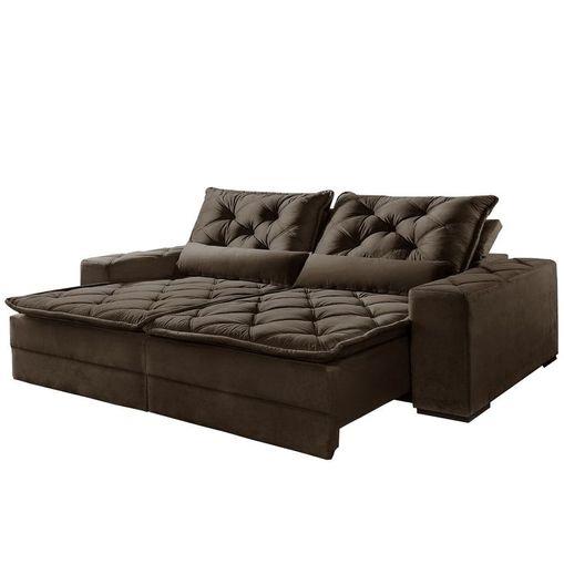 Sofa-Retratil-e-Reclinavel-2-Lugares-Marrom-250cm-Lancelot