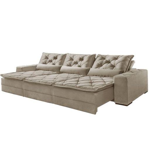 Sofa-Retratil-e-Reclinavel-3-Lugares-Bege-410cm-Lancelot