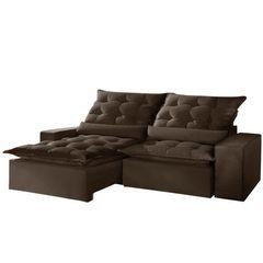 Sofa-Retratil-e-Reclinavel-2-Lugares-Marrom-250cm-Lucan