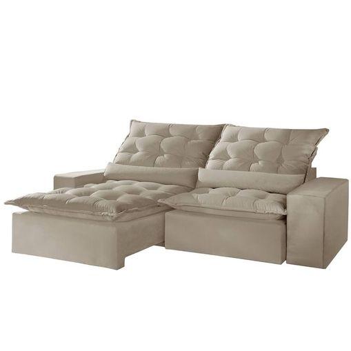 Sofa-Retratil-e-Reclinavel-2-Lugares-Bege-210cm-Lucan