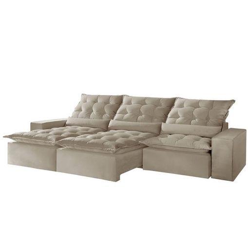 Sofa-Retratil-e-Reclinavel-3-Lugares-Bege-290cm-Lucan