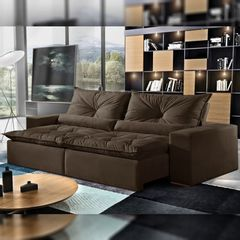 Sofa-Retratil-e-Reclinavel-2-Lugares-Marrom-290cm-Galahad-1