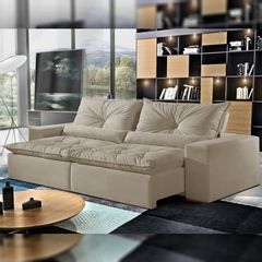 Sofa-Retratil-e-Reclinavel-2-Lugares-Bege-230cm-Galahad-1