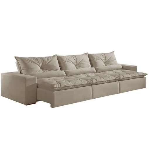 Sofa-Retratil-e-Reclinavel-3-Lugares-Bege-320cm-Galahad