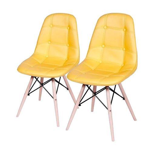 kit-2-cadeiras-eames-botone-amarela
