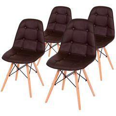kit-4-cadeiras-eames-botone-marrom