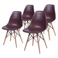 kit-4-cadeiras-eames-wood-cafe