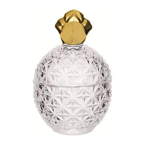 Abacaxi-Decorativo-de-Vidro-14cm-Dourado-7708-Mart