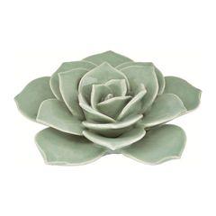 Flor-Decorativa-de-Ceramica-Verde-7644-Mart