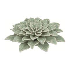 Flor-Decorativa-de-Ceramica-Verde-7647-Mart