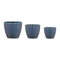 Conjunto-de-3-Cachepots-em-Ceramica-Azul-Gaia-08175-Mart