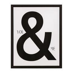 Quadro-Decorativo-Branco-e-Preto-40x50cm-You-And-Me-7900-Mart