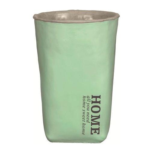 Vaso-de-Cimento-Verde-25cm-Home-7605-Mart