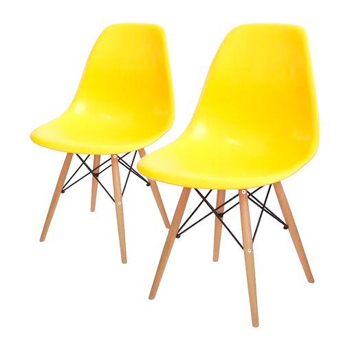 kit-2-cadeiras-eames-wood-amarela
