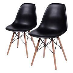 Conjunto-de-2-Cadeiras-de-Jantar-Eames-Wood-Preta-OR-Design-1102B